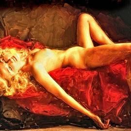 Newd PhotoWerks - Reclining Blonde