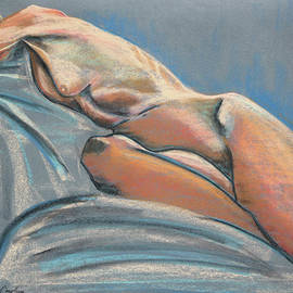 Asha Carolyn Young - Reclining Nude Front