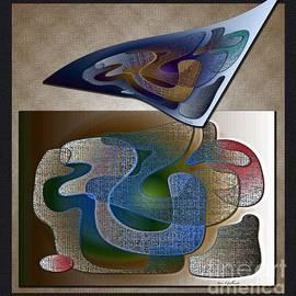 Iris Gelbart - Reclining Shapes