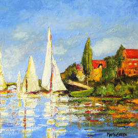 Marti Green - Recreation of Boating at Argenteuil