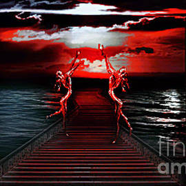 M and L Creations - Red Altar with Red Sunset