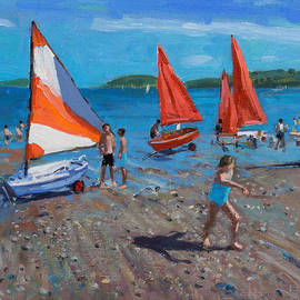 Andrew Macara - Red and White Sails