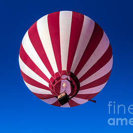 Robert Bales - Red and White Striped Balloon