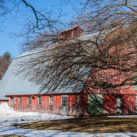 Jeff Folger - Red barn and green doors