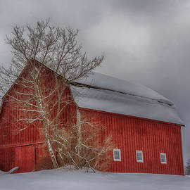 Guy Whiteley - Red Barn in HDR