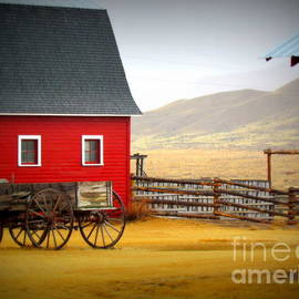 Krista Carofano - Red Barn w/ Wagon