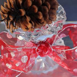 Ella Kaye Dickey - Red Bow - A Christmas Greeting Card