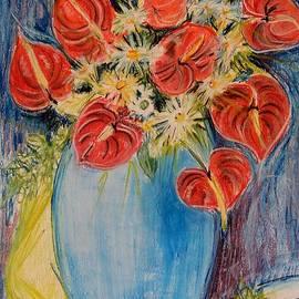Caroline Street - Red Calla Lilies