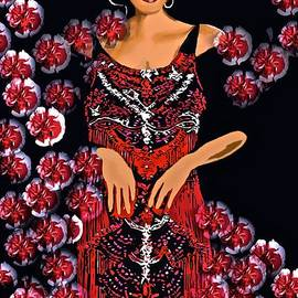 Saundra Myles - Red Carnations and The Jazz Singer C1930