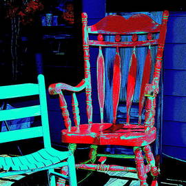 Kathy Barney - Red Chair Blue Chair