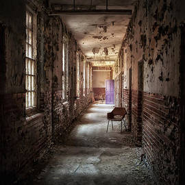 Jason Green - Red Chairs Purple Doors