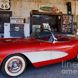 Eva Kato - Red Corvette Circa 1950s