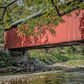 Edward Fielding - Red Covered Bridge
