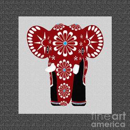 Indira Palasubramaniam - Red Elephant