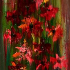 Dimitra Papageorgiou - Red flowers
