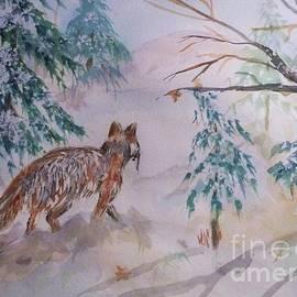 Ellen Levinson - Red Fox - Winter Dawn