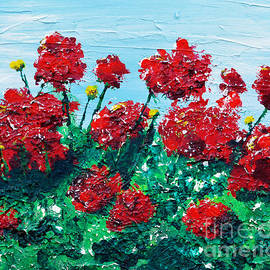 Alys Caviness-Gober - Red Geraniums