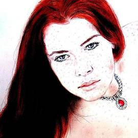Jim Fitzpatrick - Red Hair and Freckled Beauty Remake II