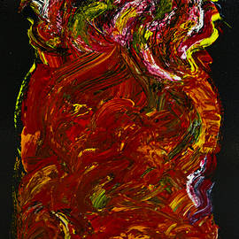 Renee Anderson - Red Heart 3 Painting