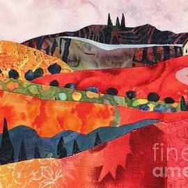 Susan Minier - Red Hills in Autumn
