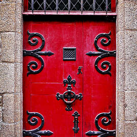 Elena Elisseeva - Red medieval door