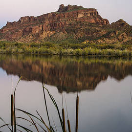 Dave Dilli - Red Mountain Reflections