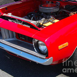 Mark Spearman - Red Plymouth Barracuda