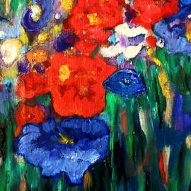 Tolere - Red Poppies and a Blue One