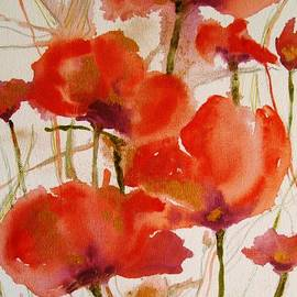 Andrea Ehret - Red poppies