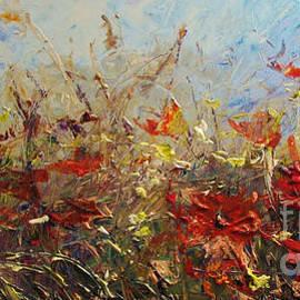 Bozena Simeth - Red Poppies