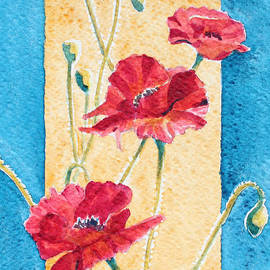 Deb  Harclerode - Red Poppies