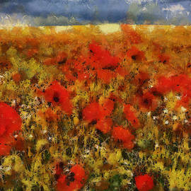 Georgi Dimitrov - Red poppies