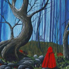Anastasiya Malakhova - Red Riding Hood in the Forest