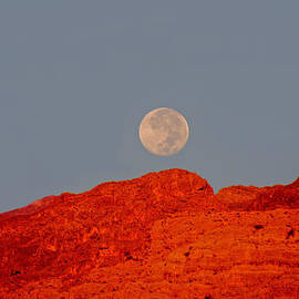 John Langdon - Red Rock Moon Set