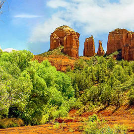 Bob and Nadine Johnston - Red Rock State Park Sedona Arizona