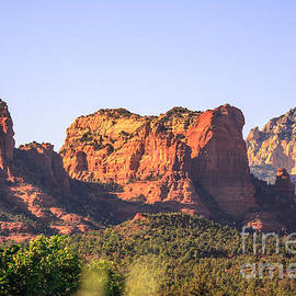 ILONA ANITA TIGGES - GOETZE  ART and Photography  - Red Rocks Panoramic View 2 Sedona Arizona