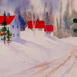 Teresa Ascone - Red Roofs