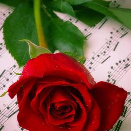 Garry Gay - Red Rose On Sheet Music
