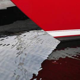 David T Wilkinson - Red Sailboat Bow