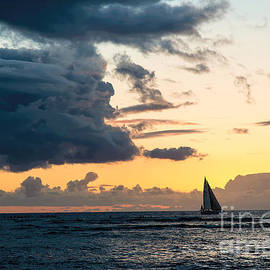 Jon Burch Photography - Red Sails in the Sunset