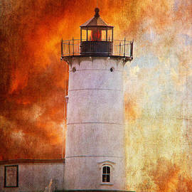 Lois Bryan - Red Sky At Morning - Nubble Lighthouse