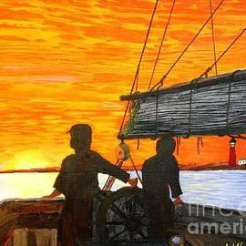 Bill Hubbard - Red Sky at Night a Sailor