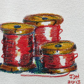 Joseph Hawkins - Red Spools of Thread