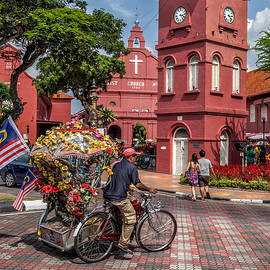 Adrian Evans - Red Square Malacca