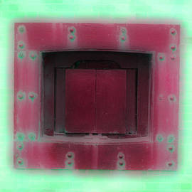 Holly Blunkall - Red Square Misted Green