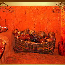Constance Lowery - Red Stones in a Basket