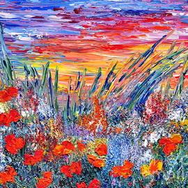 Teresa Wegrzyn - Red Sunset