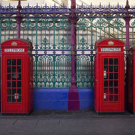 Shirley Mitchell - Red Telephone boxes