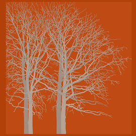 Kandy Hurley - Red Trees Autumn