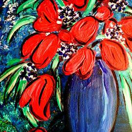 Nikki Dalton - Red Tulips